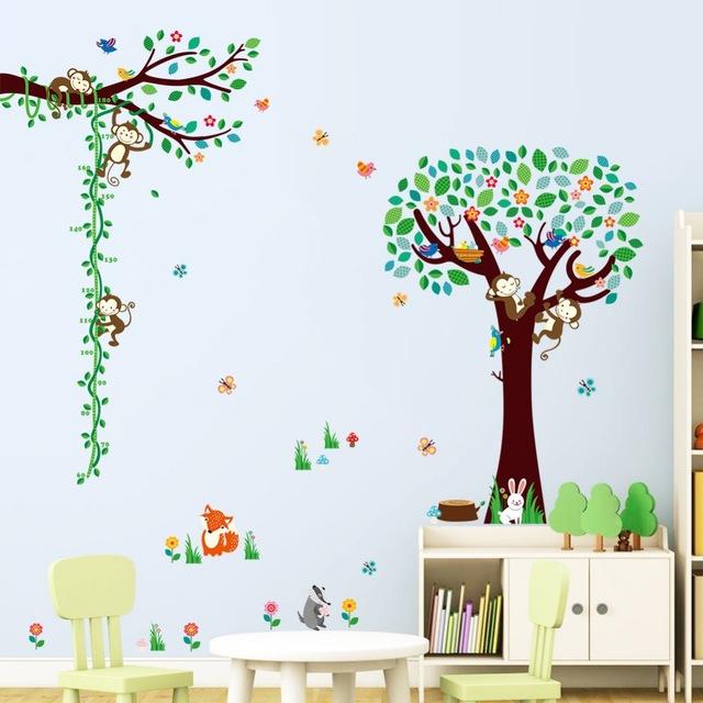 3D-мультфильм-обезьяна-птица-кролик-дерево-филиал-цветы-стены-стикеры-детская-комната-спальня-home-decor-ПВХ.jpg_640x640
