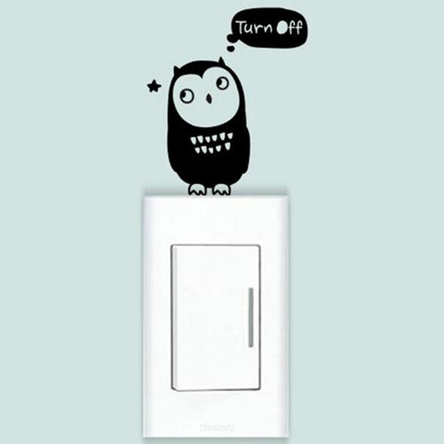 DIY-смешные-сова-Наклейки-Переключатель-Наклейки-для-Стен-Украшения-Дома-Спальня-Салон-Украшения.jpg_640x640